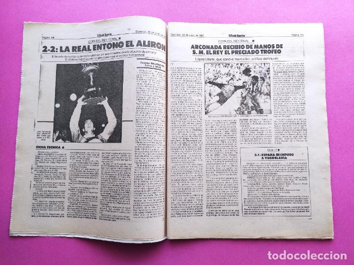DIARIO MUNDO DEPORTIVO REAL SOCIEDAD CAMPEON COPA DEL REY 86/87 - FINAL 1986/1987 ARCONADA TOSHACK (Coleccionismo Deportivo - Revistas y Periódicos - Mundo Deportivo)
