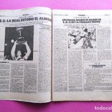 Coleccionismo deportivo: DIARIO MUNDO DEPORTIVO REAL SOCIEDAD CAMPEON COPA DEL REY 86/87 - FINAL 1986/1987 ARCONADA TOSHACK. Lote 255434085