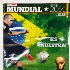 Coleccionismo deportivo: GUÍA MARCA MUNDIAL DE FÚTBOL BRASIL 2014. Lote 255455510
