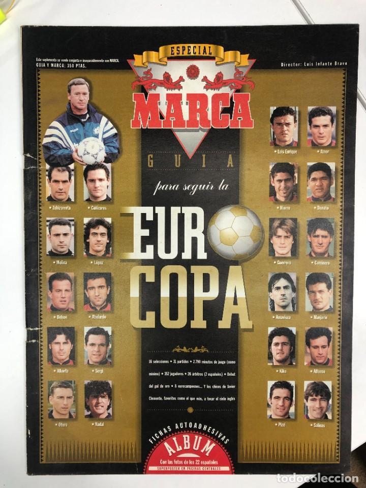 GUÍA MARCA EUROCOPA DE FÚTBOL INGLATERRA 1996 (Coleccionismo Deportivo - Revistas y Periódicos - Marca)