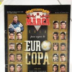 Colecionismo desportivo: GUÍA MARCA EUROCOPA DE FÚTBOL INGLATERRA 1996. Lote 255455690