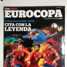 Coleccionismo deportivo: GUÍA MARCA EUROCOPA DE FÚTBOL POLONIA UCRANIA 2012. Lote 255456110