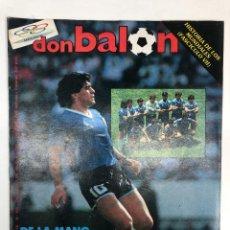 Coleccionismo deportivo: REVISTA DON BALÓN Nº559 ARGENTINA CAMPEONA DEL MUNDO MUNDIAL MÉXICO 86. Lote 255457715
