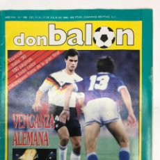 Coleccionismo deportivo: REVISTA DON BALÓN Nº768 ALEMANIA CAMPEONA DEL MUNDO MUNDIAL ITALIA 90. Lote 255457855