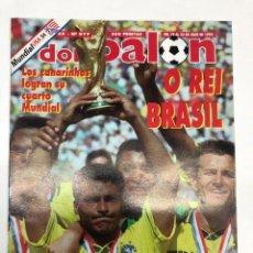 Coleccionismo deportivo: REVISTA DON BALÓN Nº977 BRASIL CAMPEONA DEL MUNDO MUNDIAL USA 94. Lote 255458015
