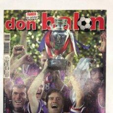 Coleccionismo deportivo: REVISTA DON BALÓN Nº1290 FRANCIA CAMPEONA DE LA EUROCOPA 2000. Lote 255458125