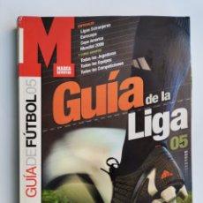 Coleccionismo deportivo: GUÍA DE LA LIGA FÚTBOL 05 MARCA. Lote 255595195