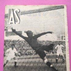 Coleccionismo deportivo: PERIODICO AS Nº 89 1934 LIGA 33/34 DEPORTIVO-CELTA - ESPAÑA MUNDIAL ITALIA 34 - ARENAS GETXO. Lote 255919050
