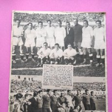 Collectionnisme sportif: PERIODICO AS Nº 100 REAL MADRID CAMPEON COPA 1933/1934 FINAL 33/34 VALENCIA MONTJUICH. Lote 255919440