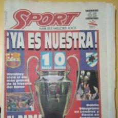 Coleccionismo deportivo: PERIÓDICO SPORT, AÑO 1992. Lote 255923095