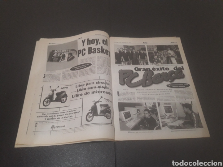 Coleccionismo deportivo: SPORT N° 6429. 21DE SEPTIEMBRE 1997. - Foto 11 - 255934760