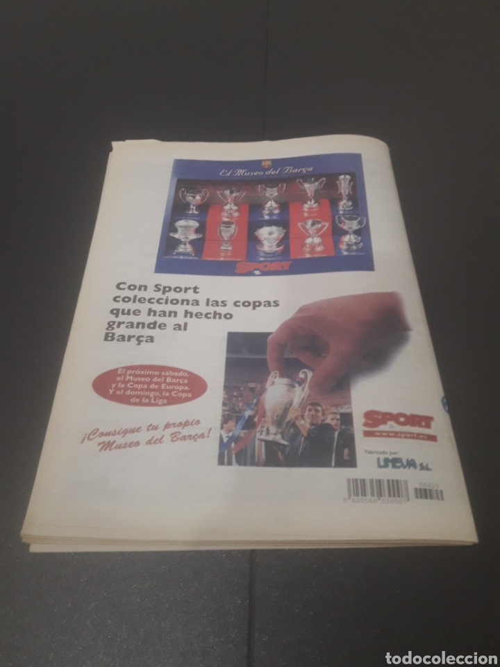 Coleccionismo deportivo: SPORT N° 6429. 21DE SEPTIEMBRE 1997. - Foto 33 - 255934760