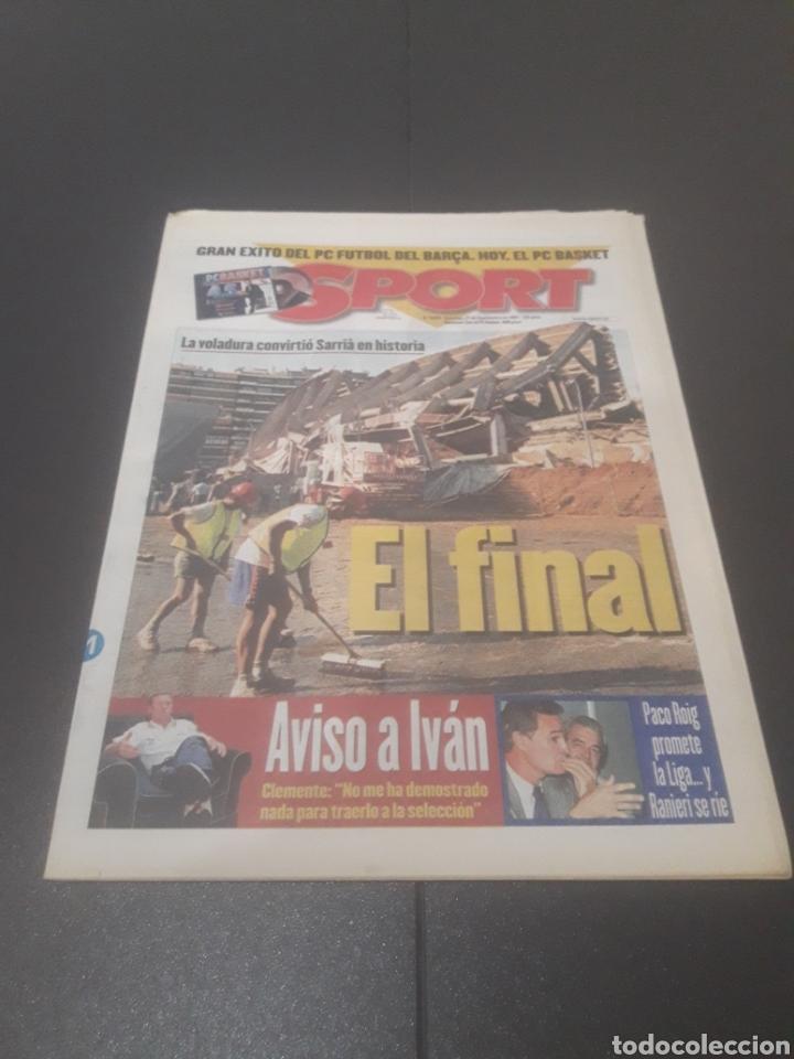 SPORT N° 6429. 21DE SEPTIEMBRE 1997. (Coleccionismo Deportivo - Revistas y Periódicos - Sport)
