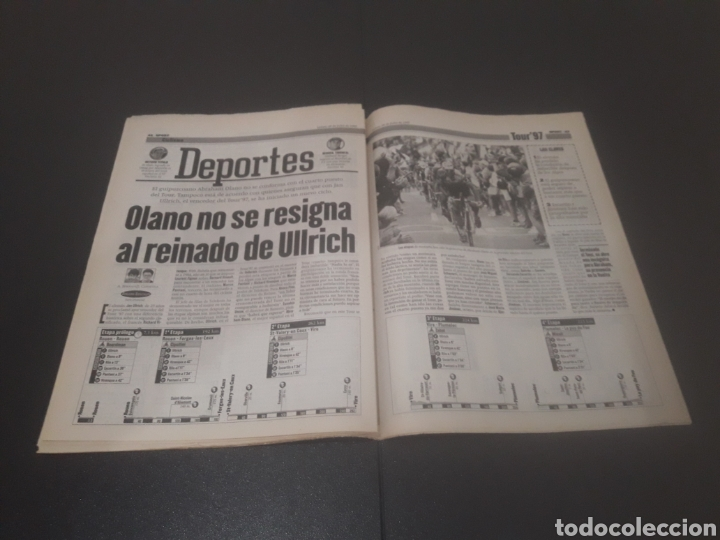 Coleccionismo deportivo: SPORT N° 6374. 29 DE JULIO 1997. - Foto 22 - 255935900