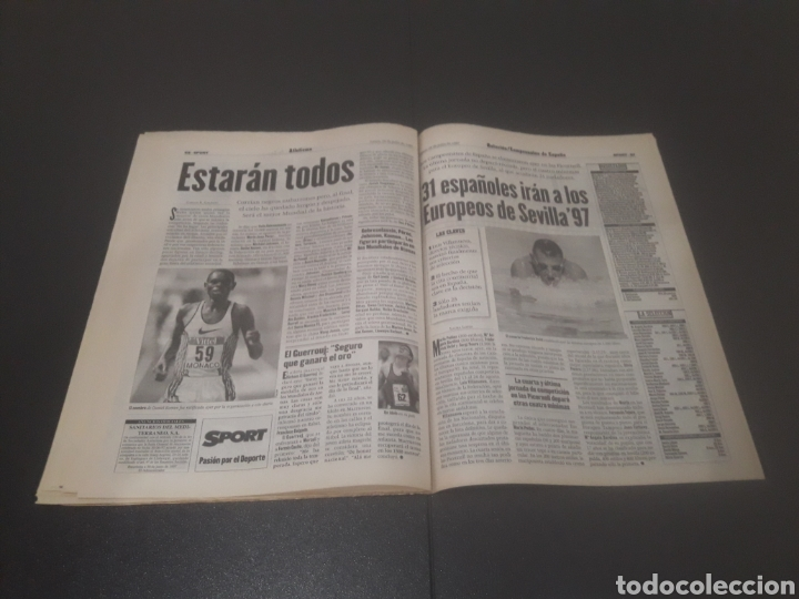 Coleccionismo deportivo: SPORT N° 6374. 29 DE JULIO 1997. - Foto 29 - 255935900