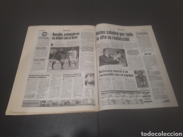Coleccionismo deportivo: SPORT N° 6374. 29 DE JULIO 1997. - Foto 32 - 255935900