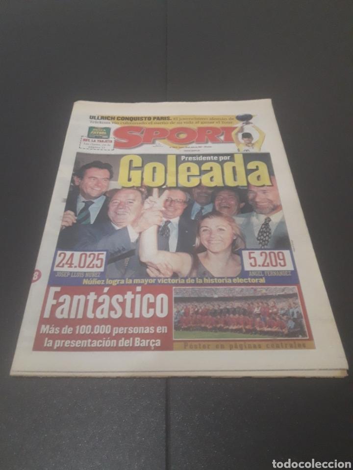 SPORT N° 6374. 29 DE JULIO 1997. (Coleccionismo Deportivo - Revistas y Periódicos - Sport)