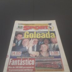 Coleccionismo deportivo: SPORT N° 6374. 29 DE JULIO 1997.. Lote 255935900