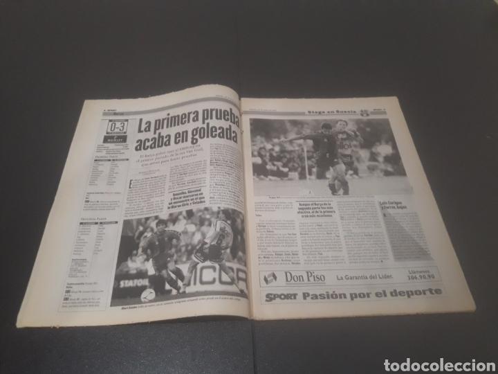Coleccionismo deportivo: SPORT N° 6372. 26 DE JULIO 1997. - Foto 3 - 255937055