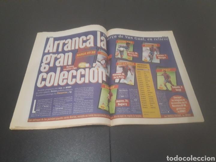 Coleccionismo deportivo: SPORT N° 6372. 26 DE JULIO 1997. - Foto 17 - 255937055