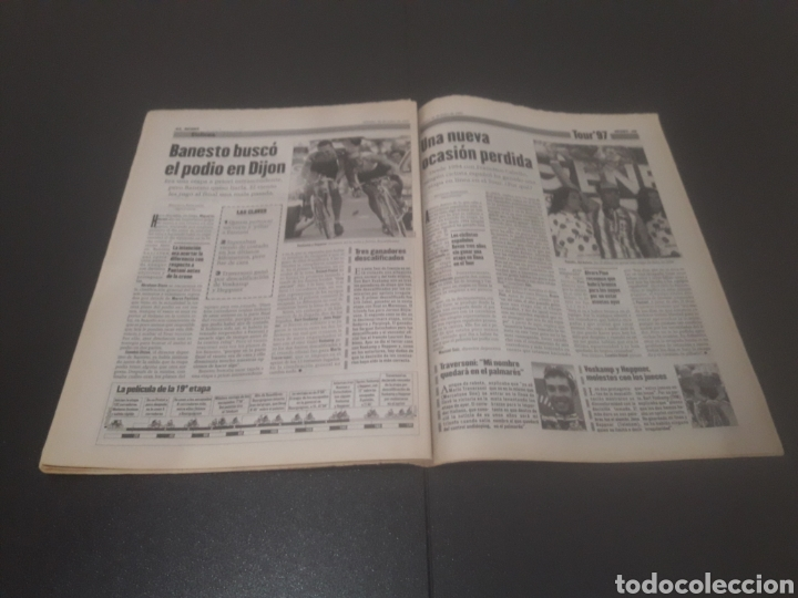Coleccionismo deportivo: SPORT N° 6372. 26 DE JULIO 1997. - Foto 23 - 255937055