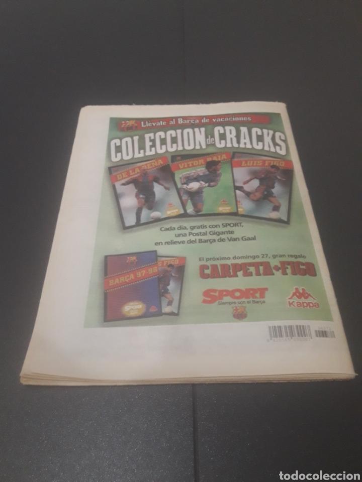 Coleccionismo deportivo: SPORT N° 6372. 26 DE JULIO 1997. - Foto 33 - 255937055