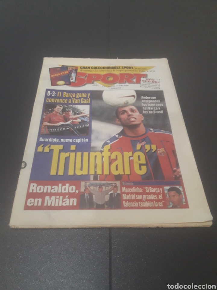 SPORT N° 6372. 26 DE JULIO 1997. (Coleccionismo Deportivo - Revistas y Periódicos - Sport)