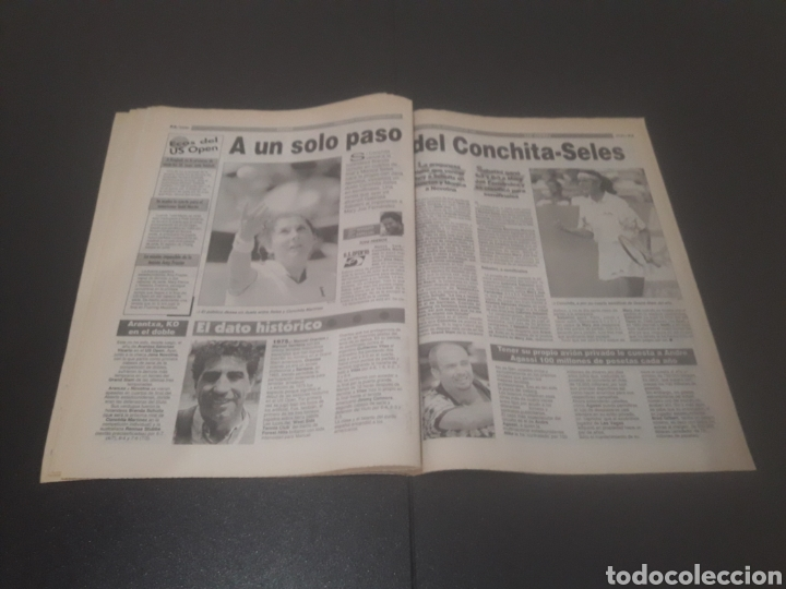 Coleccionismo deportivo: SPORT N° 5689. TENIS DE SEPTIEMBRE 1995. - Foto 27 - 255938115