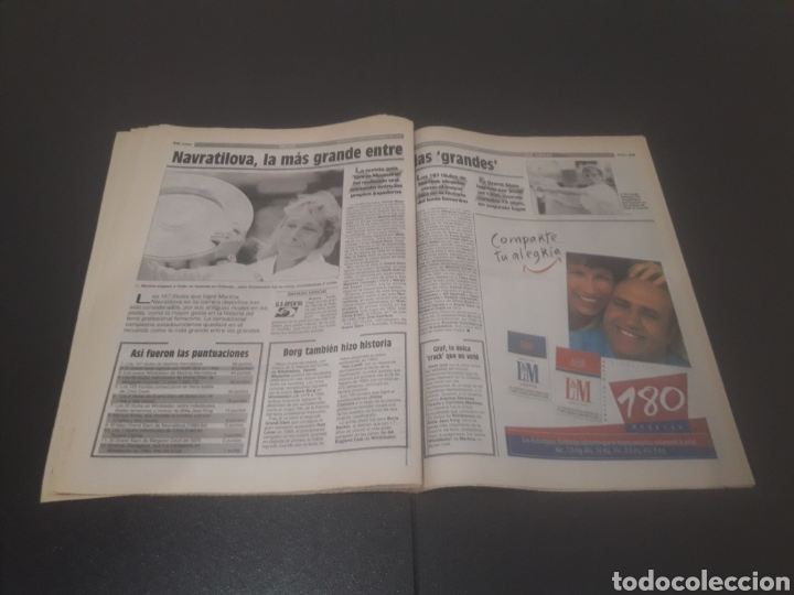 Coleccionismo deportivo: SPORT N° 5689. TENIS DE SEPTIEMBRE 1995. - Foto 28 - 255938115