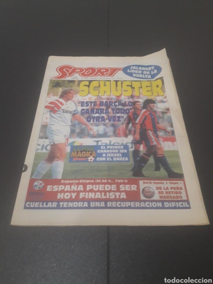 SPORT N° 5689. TENIS DE SEPTIEMBRE 1995. (Coleccionismo Deportivo - Revistas y Periódicos - Sport)