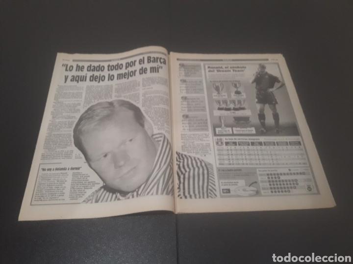 Coleccionismo deportivo: SPORT N° 5580. 20 DE MAYO 1995. - Foto 3 - 255940470