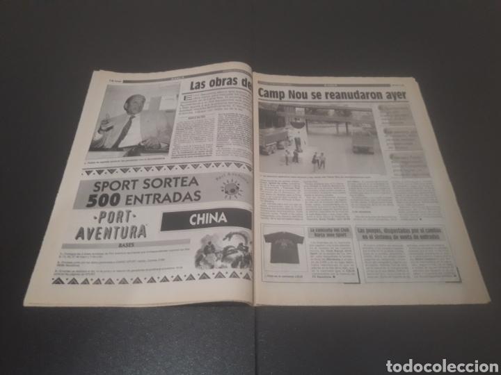Coleccionismo deportivo: SPORT N° 5580. 20 DE MAYO 1995. - Foto 8 - 255940470
