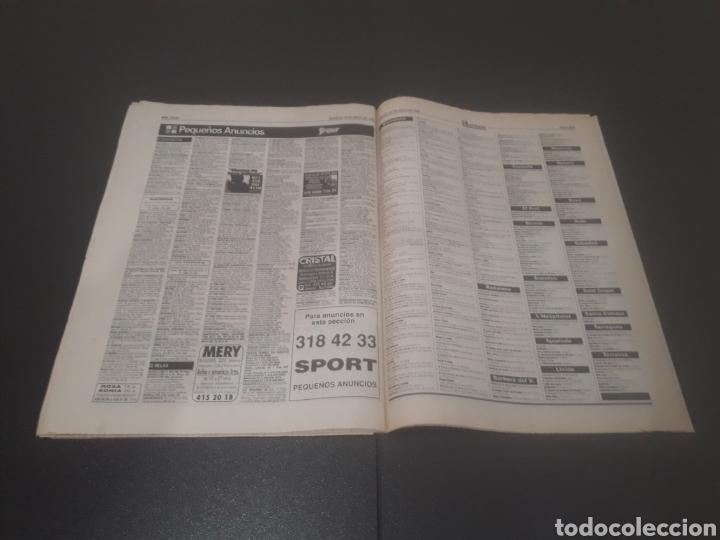 Coleccionismo deportivo: SPORT N° 5580. 20 DE MAYO 1995. - Foto 34 - 255940470