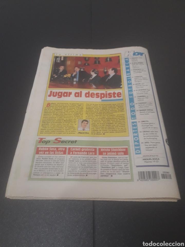 Coleccionismo deportivo: SPORT N° 5580. 20 DE MAYO 1995. - Foto 37 - 255940470