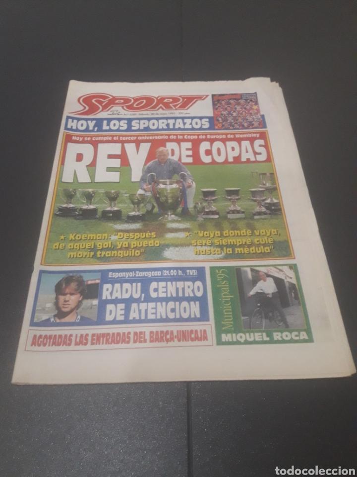 SPORT N° 5580. 20 DE MAYO 1995. (Coleccionismo Deportivo - Revistas y Periódicos - Sport)