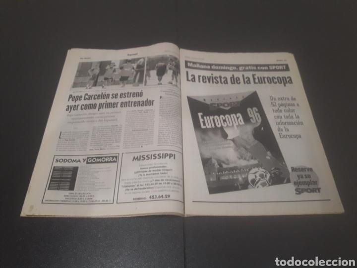 Coleccionismo deportivo: SPORT N° 5955. 1 DE JUNIO 1996. - Foto 14 - 255941545