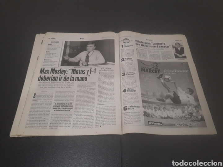 Coleccionismo deportivo: SPORT N° 5955. 1 DE JUNIO 1996. - Foto 21 - 255941545