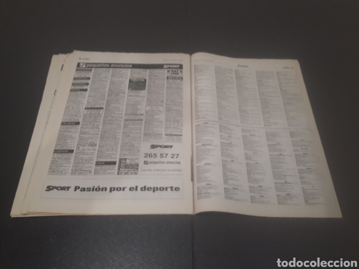 Coleccionismo deportivo: SPORT N° 5955. 1 DE JUNIO 1996. - Foto 30 - 255941545