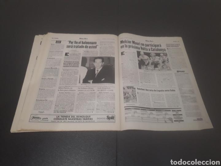 Coleccionismo deportivo: SPORT N° 5955. 1 DE JUNIO 1996. - Foto 32 - 255941545