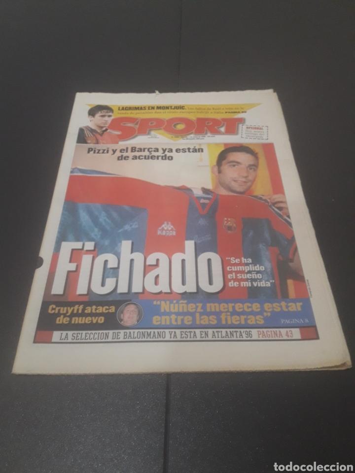 SPORT N° 5955. 1 DE JUNIO 1996. (Coleccionismo Deportivo - Revistas y Periódicos - Sport)