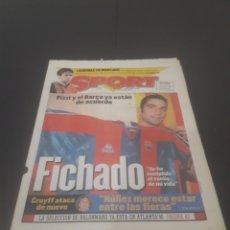 Coleccionismo deportivo: SPORT N° 5955. 1 DE JUNIO 1996.. Lote 255941545