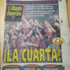Coleccionismo deportivo: PERIÓDICO EL MUNDO DEPORTIVO.. Lote 255941890