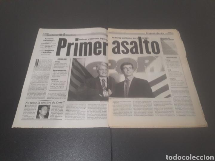 Coleccionismo deportivo: SPORT N° 6051. 5 DE SEPTIEMBRE 1996. - Foto 2 - 255943035