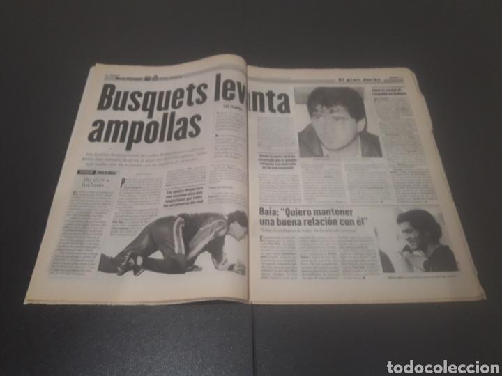 Coleccionismo deportivo: SPORT N° 6051. 5 DE SEPTIEMBRE 1996. - Foto 5 - 255943035