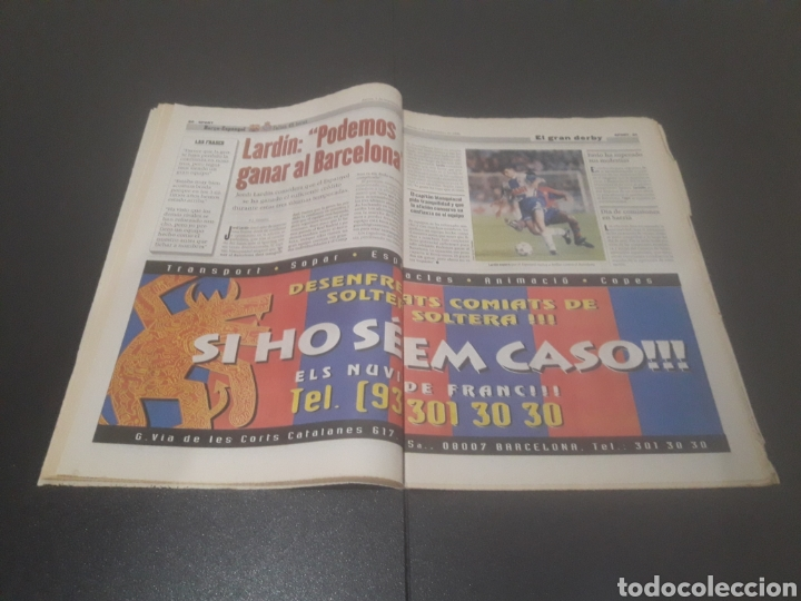 Coleccionismo deportivo: SPORT N° 6051. 5 DE SEPTIEMBRE 1996. - Foto 11 - 255943035
