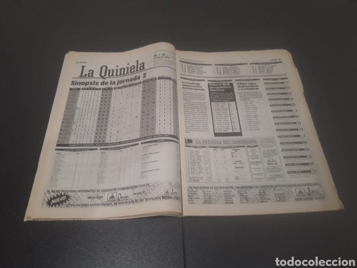 Coleccionismo deportivo: SPORT N° 6051. 5 DE SEPTIEMBRE 1996. - Foto 16 - 255943035