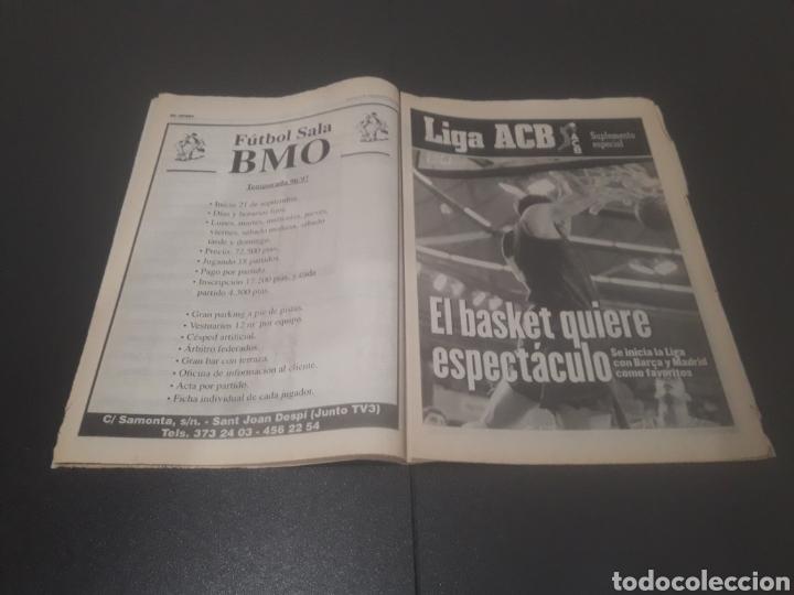 Coleccionismo deportivo: SPORT N° 6051. 5 DE SEPTIEMBRE 1996. - Foto 17 - 255943035