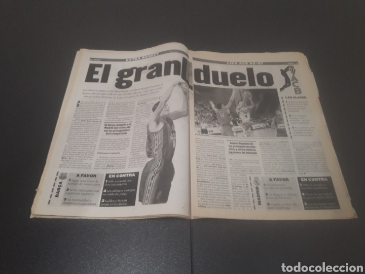 Coleccionismo deportivo: SPORT N° 6051. 5 DE SEPTIEMBRE 1996. - Foto 19 - 255943035