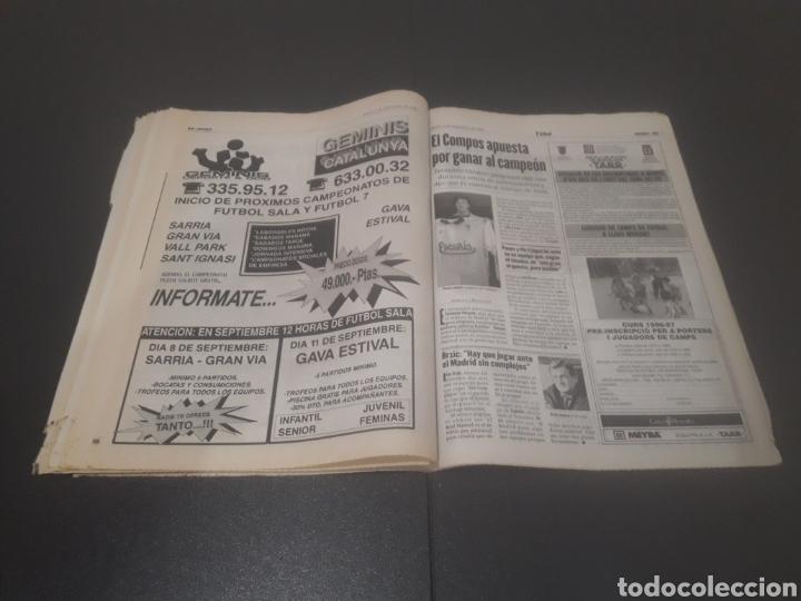 Coleccionismo deportivo: SPORT N° 6051. 5 DE SEPTIEMBRE 1996. - Foto 28 - 255943035
