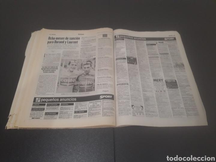 Coleccionismo deportivo: SPORT N° 6051. 5 DE SEPTIEMBRE 1996. - Foto 38 - 255943035